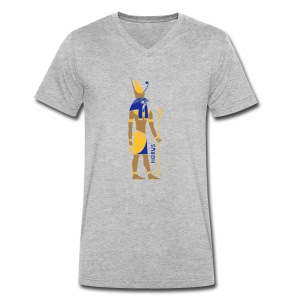 HORUS God of Egypt - Männer Bio-T-Shirt mit V-Ausschnitt von Stanley & Stella