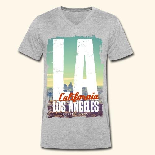 City of dreams - T-shirt bio col V Stanley & Stella Homme