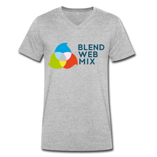 BlendWebMix - T-shirt bio col V Stanley & Stella Homme