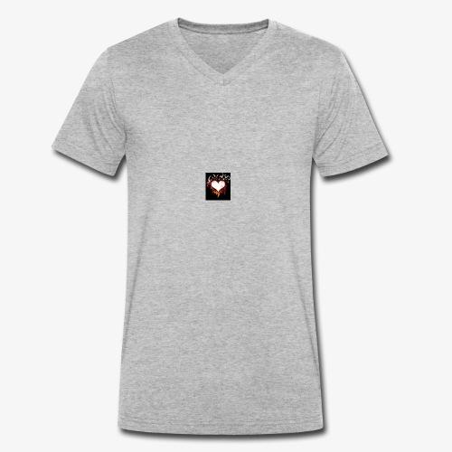 Herz Gefühl - Männer Bio-T-Shirt mit V-Ausschnitt von Stanley & Stella