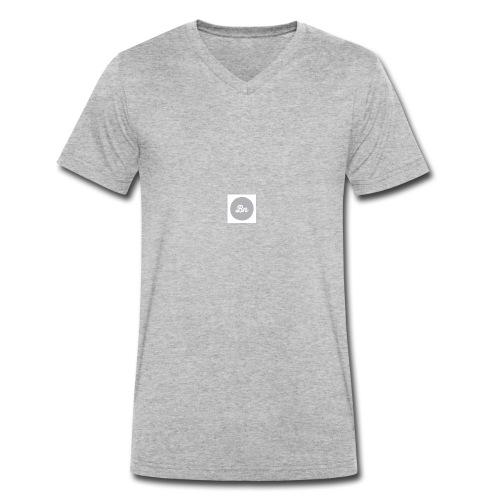 Brand&New grey collection - Ekologisk T-shirt med V-ringning herr från Stanley & Stella