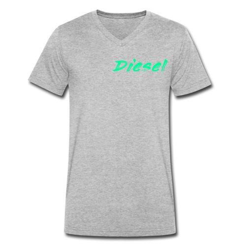 diesel - Men's Organic V-Neck T-Shirt by Stanley & Stella