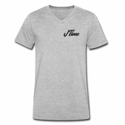 JTime Name - Männer Bio-T-Shirt mit V-Ausschnitt von Stanley & Stella