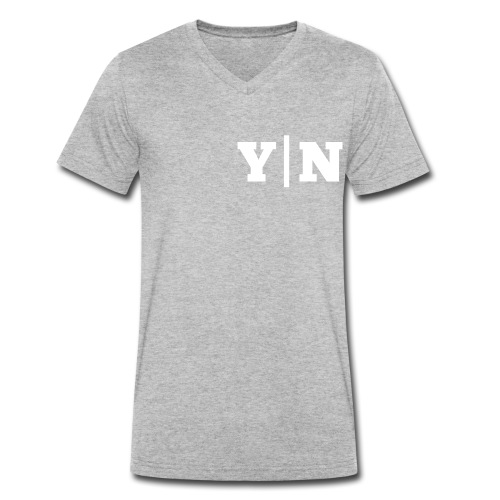 Y|N Edition - Männer Bio-T-Shirt mit V-Ausschnitt von Stanley & Stella