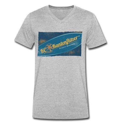 Kantenflitzer Beach - Männer Bio-T-Shirt mit V-Ausschnitt von Stanley & Stella
