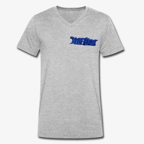 Blue Light Borst - Mannen bio T-shirt met V-hals van Stanley & Stella