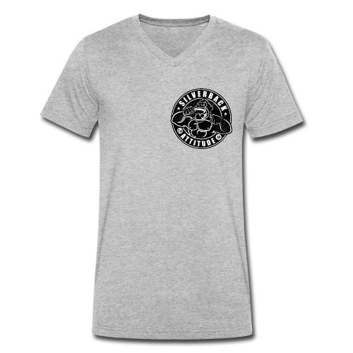 Silverback Attitude - Männer Bio-T-Shirt mit V-Ausschnitt von Stanley & Stella