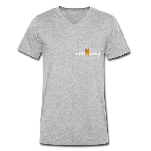L'Araignée, le logo clair pour fond foncés - T-shirt bio col V Stanley & Stella Homme