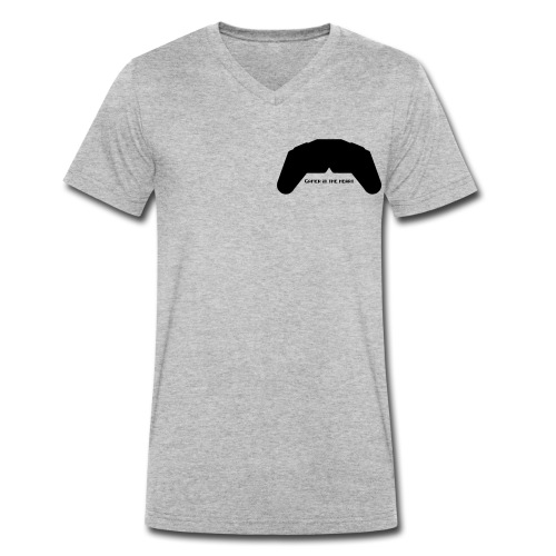 Gamer in the heart - T-shirt bio col V Stanley & Stella Homme