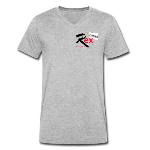 Cinéma Rex - T-shirt bio col V Stanley & Stella Homme