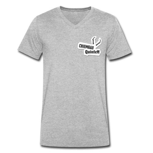 CQ - Männer Bio-T-Shirt mit V-Ausschnitt von Stanley & Stella