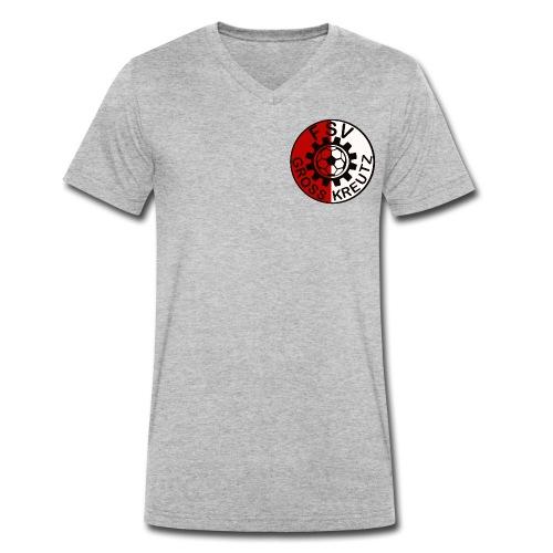 FSV Groß Kreutz - Männer Bio-T-Shirt mit V-Ausschnitt von Stanley & Stella