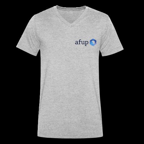 Le logo officiel de l'AFUP - T-shirt bio col V Stanley & Stella Homme
