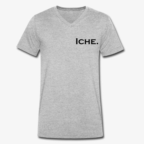 Iche - Mannen bio T-shirt met V-hals van Stanley & Stella