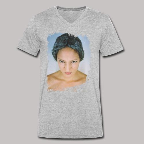 coldeyes - Männer Bio-T-Shirt mit V-Ausschnitt von Stanley & Stella