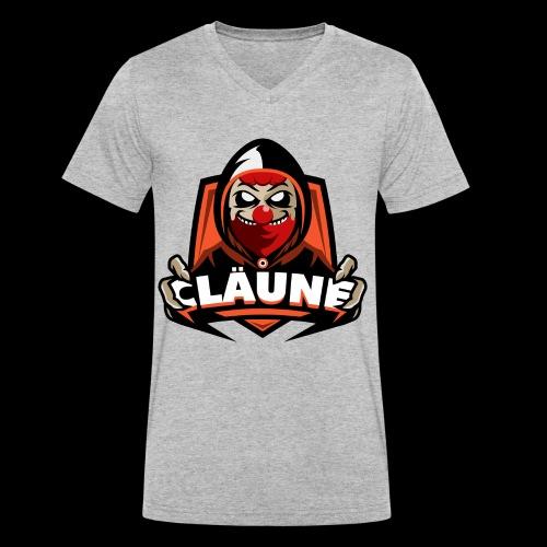 Team Cläune - Männer Bio-T-Shirt mit V-Ausschnitt von Stanley & Stella