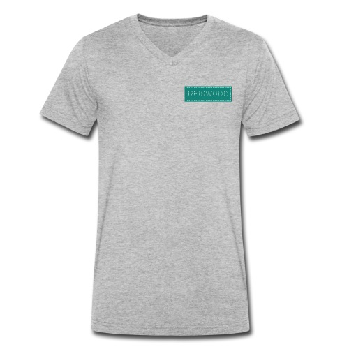 reiswood - Männer Bio-T-Shirt mit V-Ausschnitt von Stanley & Stella