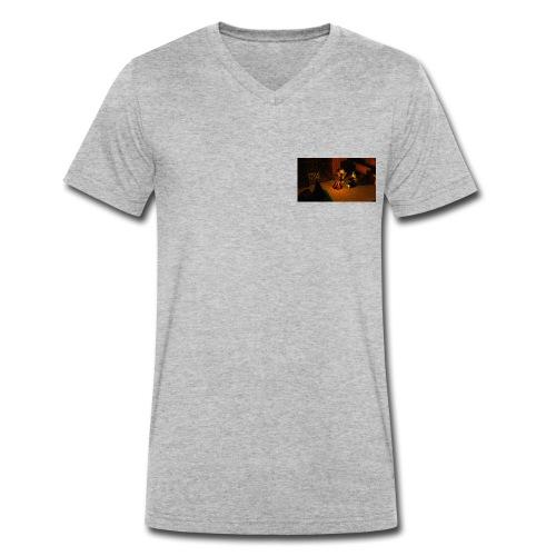 Minecraft Caming - Männer Bio-T-Shirt mit V-Ausschnitt von Stanley & Stella