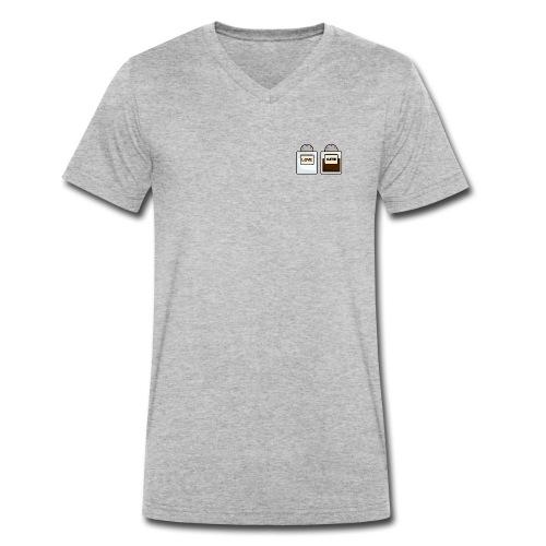 Salt and Hate - Männer Bio-T-Shirt mit V-Ausschnitt von Stanley & Stella