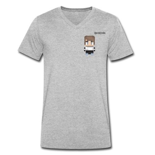 Merch disign - Männer Bio-T-Shirt mit V-Ausschnitt von Stanley & Stella