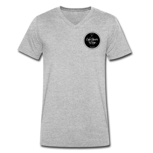 Logo Cafe racer de Liège FB - T-shirt bio col V Stanley & Stella Homme