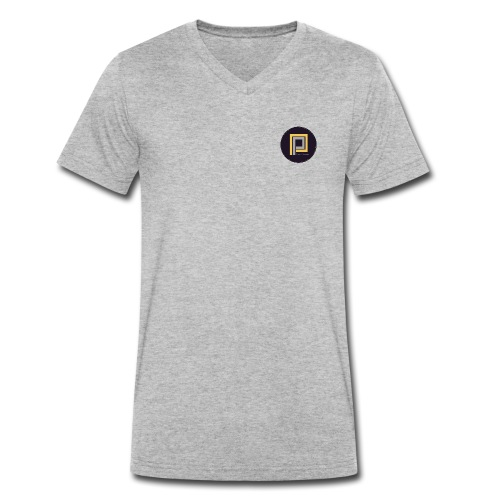 Plastik People Recordings - Men's Organic V-Neck T-Shirt by Stanley & Stella