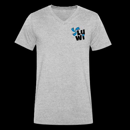 LuWi - Männer Bio-T-Shirt mit V-Ausschnitt von Stanley & Stella