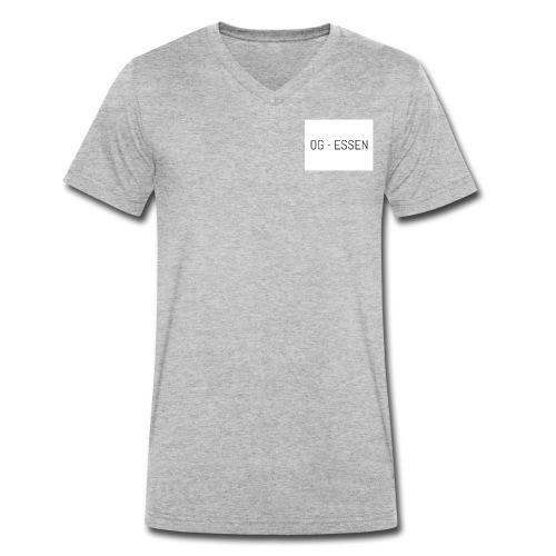 OG Essen - Männer Bio-T-Shirt mit V-Ausschnitt von Stanley & Stella