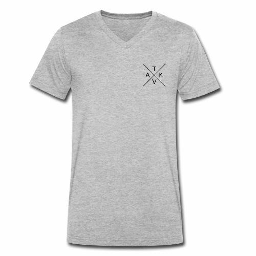 AKTV - Männer Bio-T-Shirt mit V-Ausschnitt von Stanley & Stella