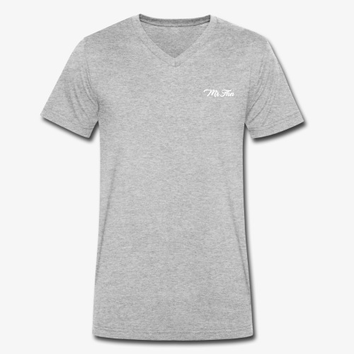 MrThn Pseudo - T-shirt bio col V Stanley & Stella Homme