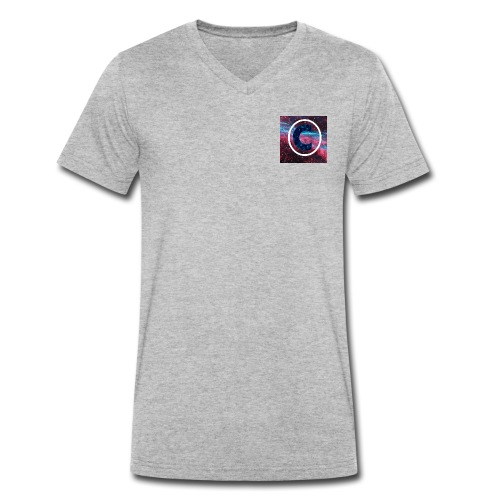 CaiVlogs Merch - Men's Organic V-Neck T-Shirt by Stanley & Stella