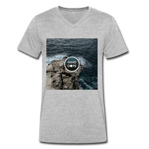 minddope.pictures Cliff-Logo - Männer Bio-T-Shirt mit V-Ausschnitt von Stanley & Stella