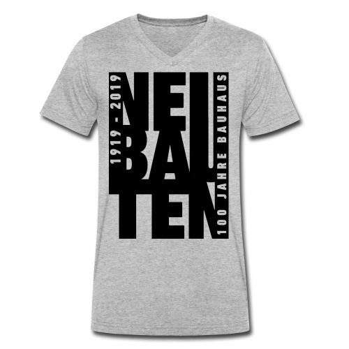BauhausDessau 100 black - T-shirt ecologica da uomo con scollo a V di Stanley & Stella
