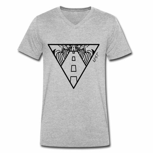 The Searcher Lost - Camiseta ecológica hombre con cuello de pico de Stanley & Stella