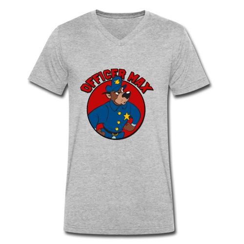 Officer DogMax - Männer Bio-T-Shirt mit V-Ausschnitt von Stanley & Stella