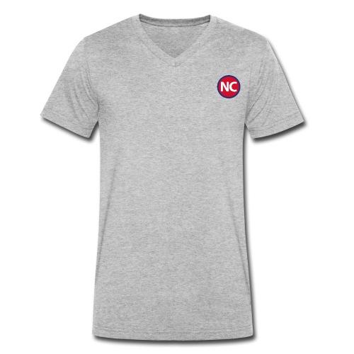 No Connection - Økologisk Stanley & Stella T-shirt med V-udskæring til herrer