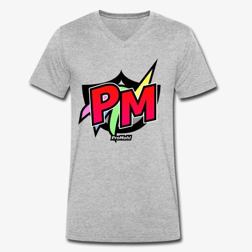 ProMohlTest - Männer Bio-T-Shirt mit V-Ausschnitt von Stanley & Stella