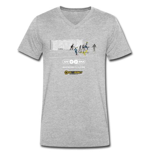 JUV-RMA 0-2 | La Chilena Memorable - T-shirt ecologica da uomo con scollo a V di Stanley & Stella