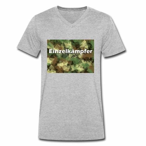 Bist du auf die alleine gestellt? - Männer Bio-T-Shirt mit V-Ausschnitt von Stanley & Stella