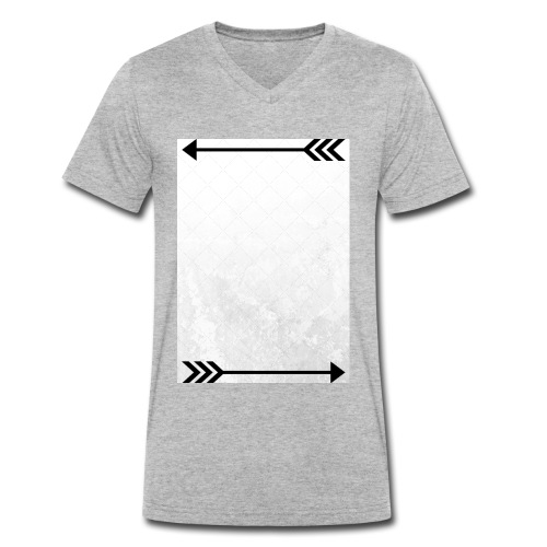 ThisWayThatWay - Men's Organic V-Neck T-Shirt by Stanley & Stella