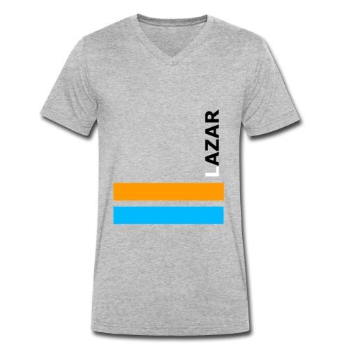LAZAR - Männer Bio-T-Shirt mit V-Ausschnitt von Stanley & Stella