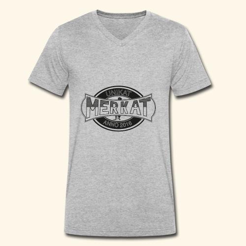 Merkat Unikat - Männer Bio-T-Shirt mit V-Ausschnitt von Stanley & Stella