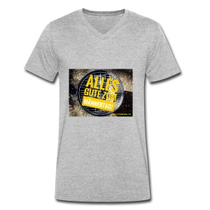 Männer-Tag - Männer Bio-T-Shirt mit V-Ausschnitt von Stanley & Stella
