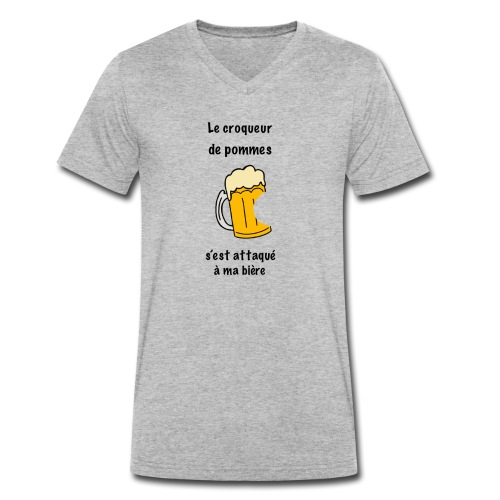 2527192B E9AC 4F3F 9E77 A984C81E9503 - T-shirt bio col V Stanley & Stella Homme