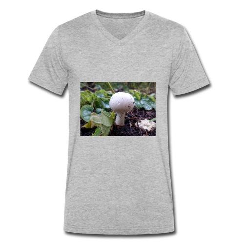 Pilz - Männer Bio-T-Shirt mit V-Ausschnitt von Stanley & Stella