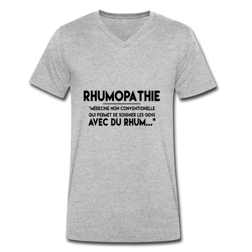 Rhumopathie - T-shirt bio col V Stanley & Stella Homme