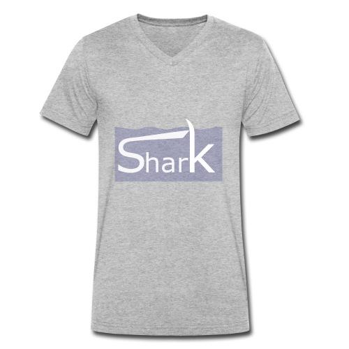 Shark fin - Männer Bio-T-Shirt mit V-Ausschnitt von Stanley & Stella