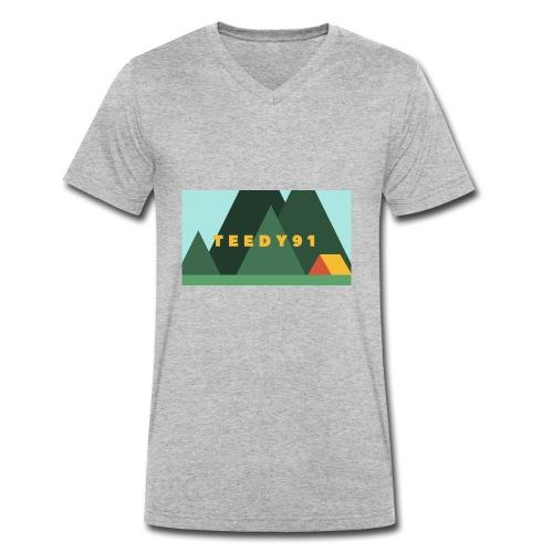 NeroMC - Männer Bio-T-Shirt mit V-Ausschnitt von Stanley & Stella