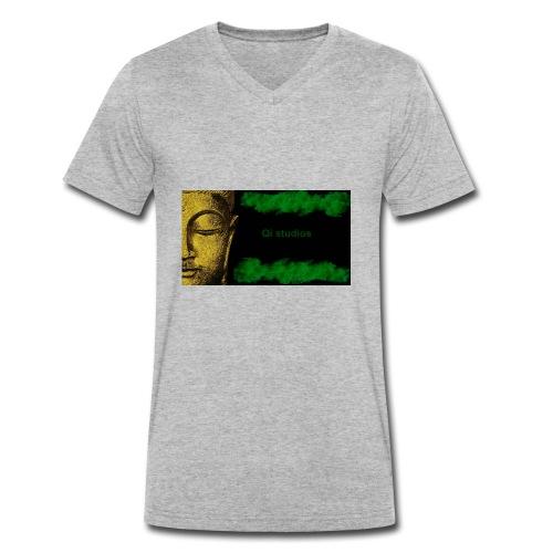 Business Major Label Qi studios - Männer Bio-T-Shirt mit V-Ausschnitt von Stanley & Stella