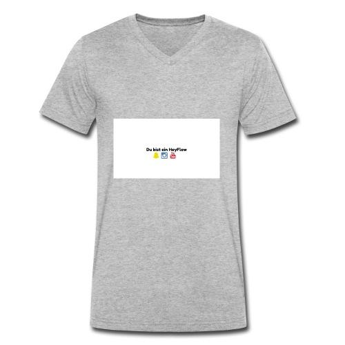 HeyFlows - Männer Bio-T-Shirt mit V-Ausschnitt von Stanley & Stella
